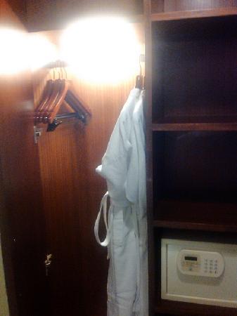 Daysun Park Hotel: 衣帽柜