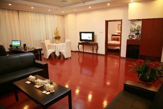Zijin Hotel: 大套间客厅