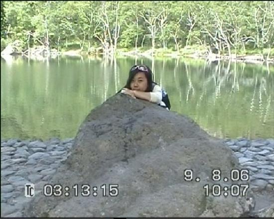 Changbaishan Fairy Bath Pond: 是不是很漂亮?