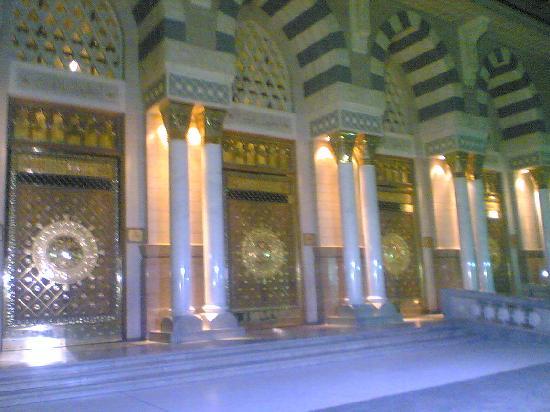 Medina, Arabia Saudita: 金子大门
