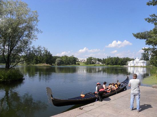Rússia: 俄罗斯圣彼得堡 夏宫湖景