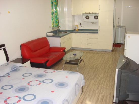 Yijia Apartment Hotel Changsha Yingshang International: 房间一角