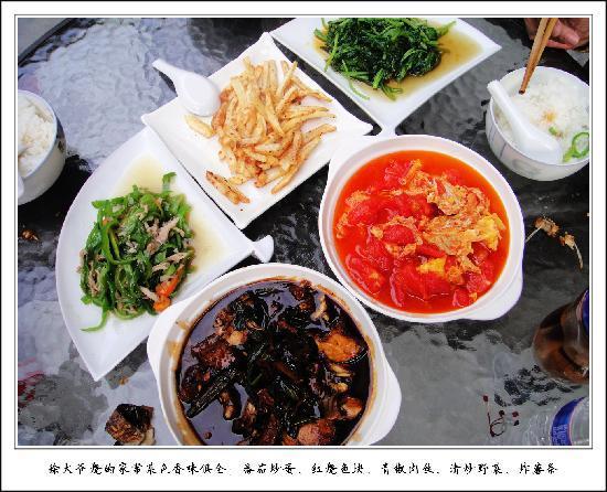 Goukou Yinxiang Hotel: 徐大爷烧的家常菜色香味俱全