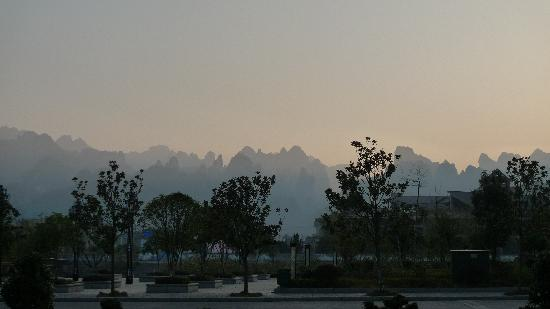 Zhuanjiacun Hotel: 房间露台外眺
