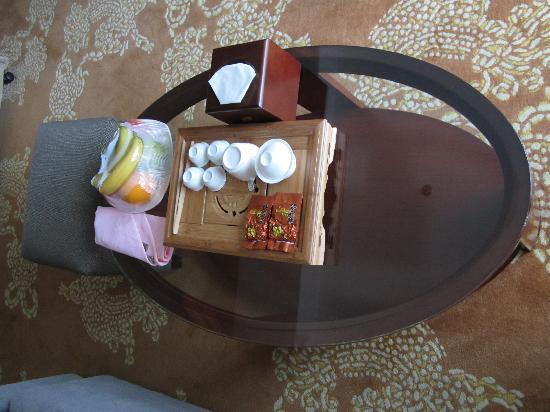 Gulangwan Grand Hotel: 入住就送茶和水果