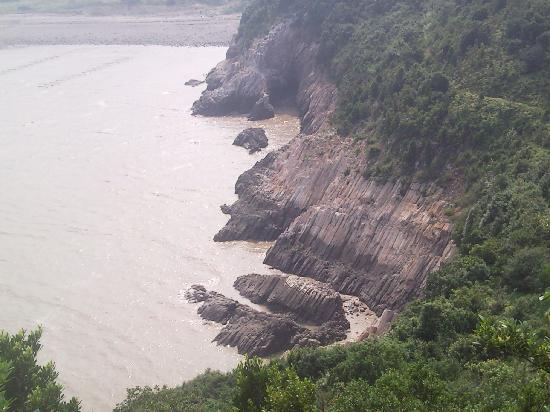 Ningbo Xiangshan Hua'aodao Stone Forest : P100828_143032