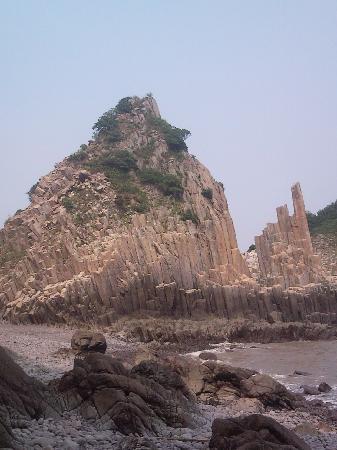 Ningbo Xiangshan Hua'aodao Stone Forest : P100828_144915