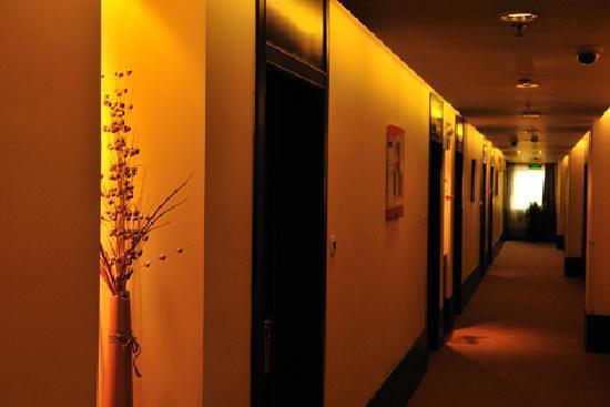 Joyful Star Hotel Pudong Airport Chenyang Hotel: 走廊