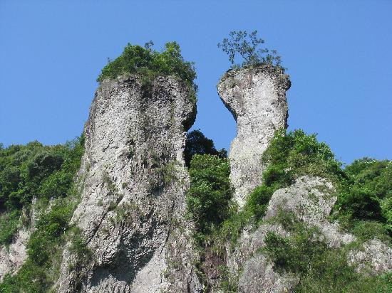 Qingyun Mountain Waterfall: 状元晒靴