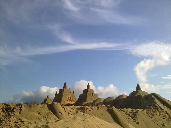 Zhujiajian Island: 沙雕