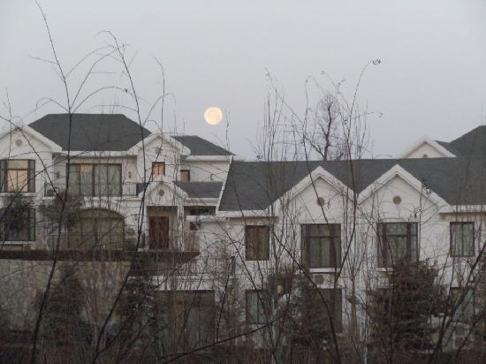 Hebei White Deer Hotspring : 冬日的氤氲也有温泉的奉献
