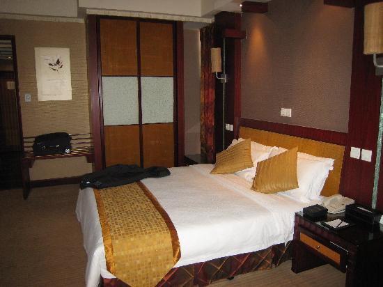 King World Hotel: 大床很舒服