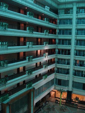 Wandai Hotel: 阳台景观