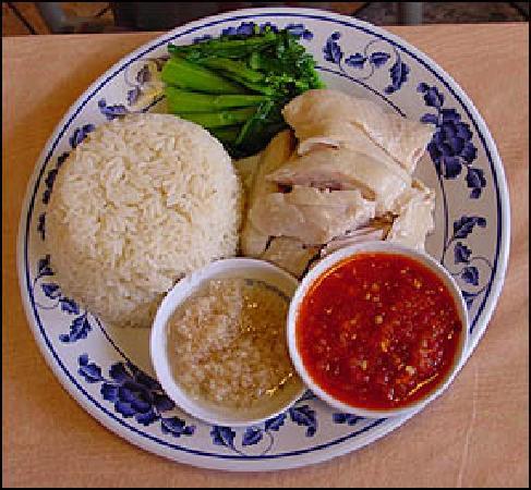 Singapore: 海南鸡饭 约$4-5