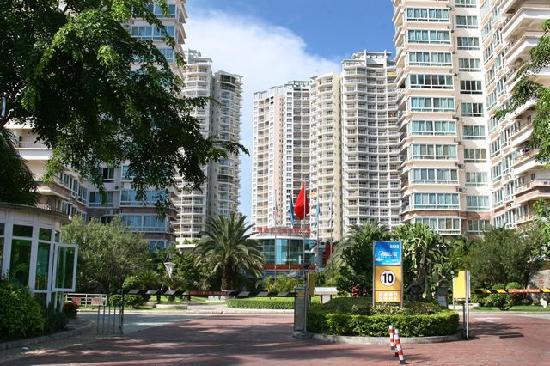 Sunshine Beach Hotel Sanya Jade Apartment: 外观