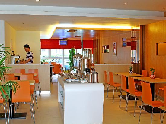 Ibis Hangzhou Binjiang: 明亮的餐厅
