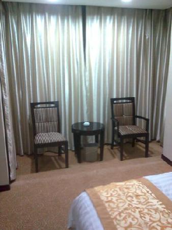 Bamushan Hotel: 床