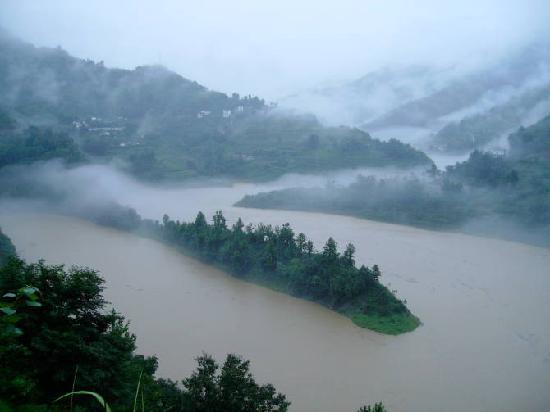 Ziyang County, China: 云雾紫阳