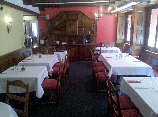 Hotel Rothaus: 酒店的餐厅