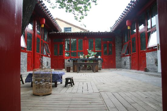 Beijing Apricot Courtyard Inn: 小小的院子,大大的温馨。