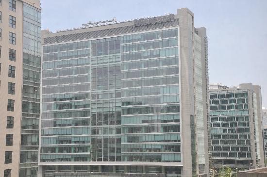 Zhongguancun Shijia Hotel Apartment: 窗外