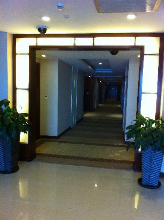 Ramada Plaza Sino Bay Shanghai: 走廊