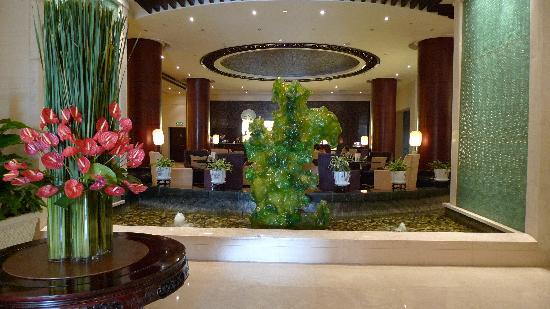 Tian Yuan Tower Hotel: 酒店的大堂还是比较富丽堂皇的