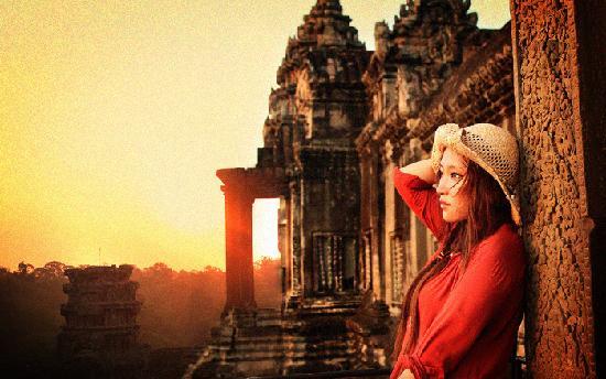 Angkor Wat: 小吴哥的日出