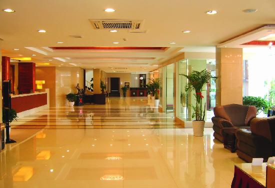 Zeheng Business Hotel: 前台1