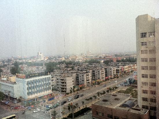 Zaozhuang Grand Hospitality Hotel: 窗外风景
