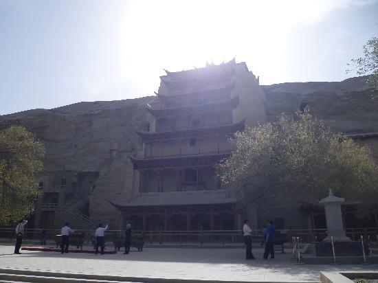 Mogao Caves: 九层楼