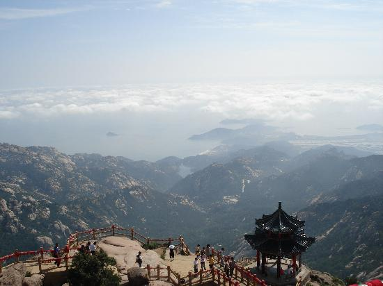Laoshan Scenic Area : 一览众山小