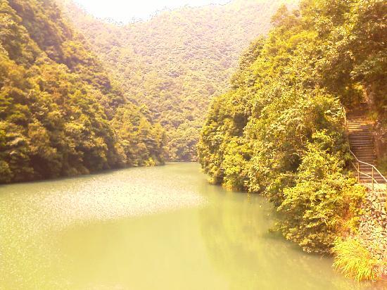 Wenzhou Shimentai Scenic Resort: 景区里