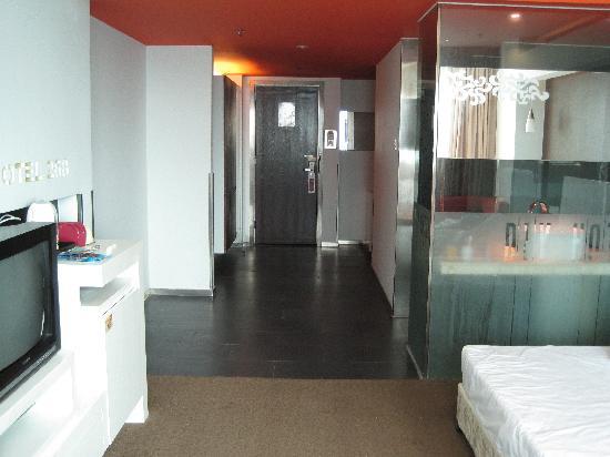 Motel 268 (Wuhan Zhongshan Park): 好大的房间