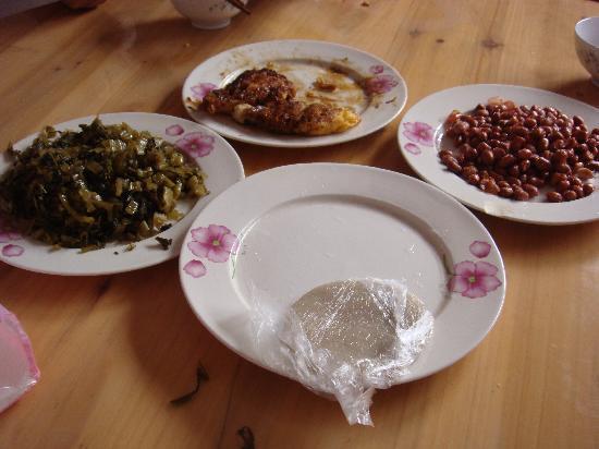 Xiaohui Inn: 小晖妈妈做的早餐,那个糯米饼很好吃!!