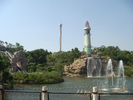 Ocean Spring Resort: 神秘岛