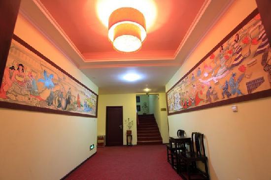Ruting Express Hotel: 走廊