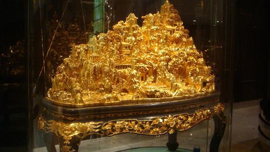 Macao, Kina: 那里都能看到金子!!