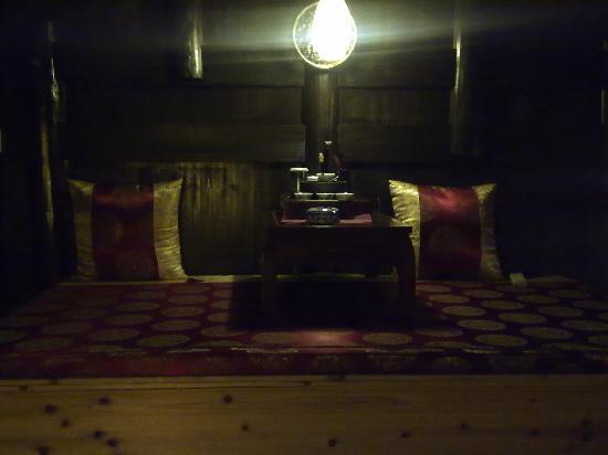 Barley Country Inn: 阁楼上喝茶的地儿
