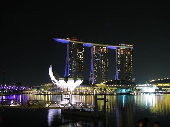 Marina Bay Sands: 酒店外观