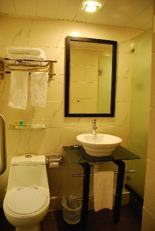 Sunny Day Hotel (Mongkok) : 卫生间