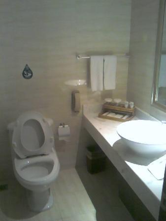 Continental Hotel: 卫生间