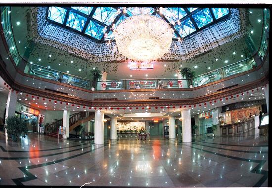 Peony Hotel: 酒店大堂