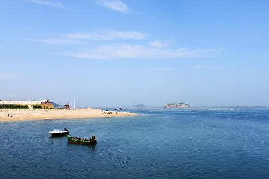 Changhai County, Cina: 清澈的海水、平缓的海滩