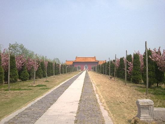 Zhu Yuanzhang's Ancestral Cemetery of Ming Dynasty : 20090412283