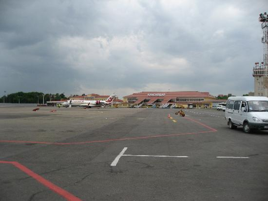 Krasnodar, روسيا: Krasnodar Airport
