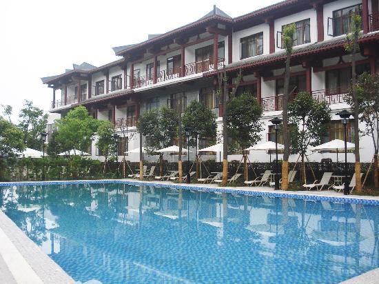 Chengdu Tao Holycity Spa Hotel: 游泳池