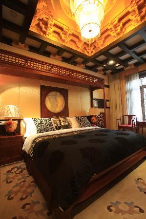 Tai'erzhuang Gucheng Wanfu Hotel: 豪华商务套房