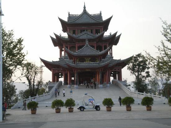 鼓楼 - 雲南省、玉渓市の写真 - ...