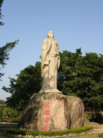 文天祥雕像